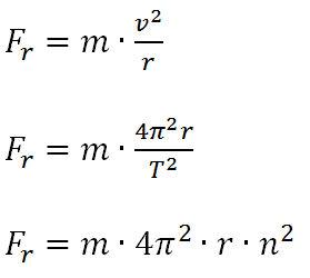 physik zentripetalkraft