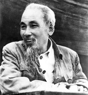 Ho Chi Minh Vietnamkrieg