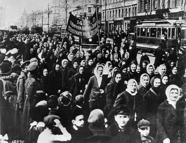 Internationaler Frauentag Petrograd 1917