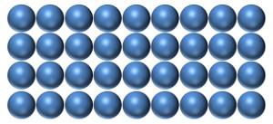 feststoff daltonmodell
