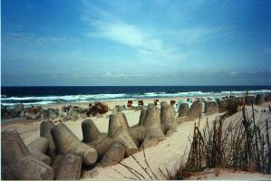 Tetrapoden Wellenbrecher