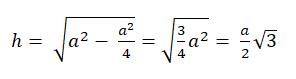 formel gleichseitiges dreieck