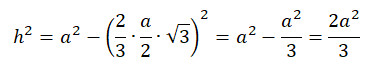 formel tetraeder
