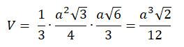 formel volumen