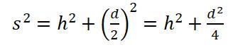 quadratische pyramide formel 1