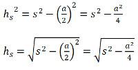 quadratische pyramide formel 2