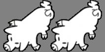 Doppelbacke