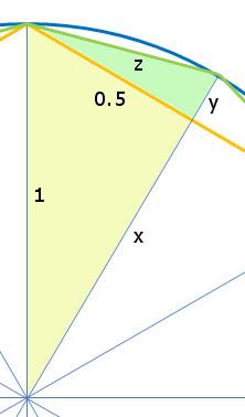 Berechnung 12-Ecks-Seite