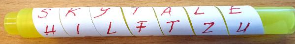 papierstreifen codiert